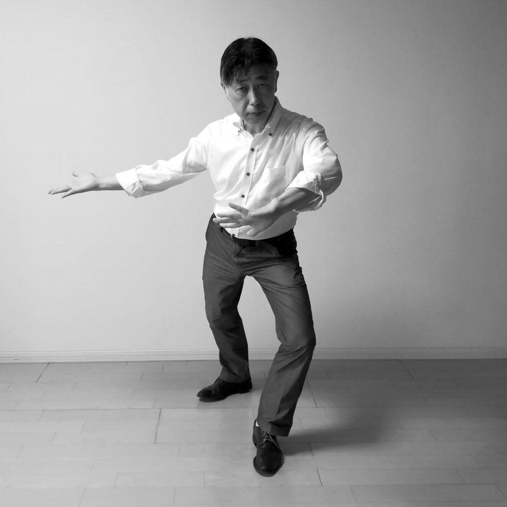 太極拳弓歩法の歩法 掤捋擠按